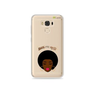 Capinha (transparente) para Asus Zenfone 3 Max- 5.5 Polegadas - Black Lives