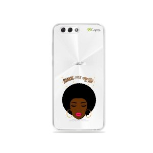 Capinha (transparente) para Zenfone 4 - Black Lives