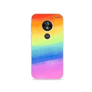 Capa para Moto E5 Play - Rainbow