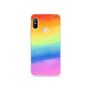 Capa para Mi A2 Lite - Rainbow
