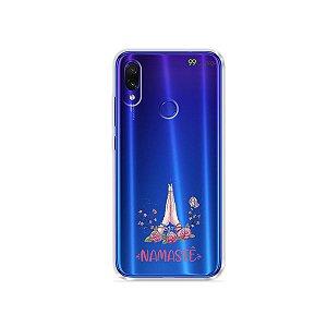 Capinha (transparente) para Xiaomi Redmi Note 7 - Namastê