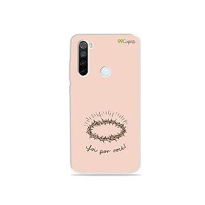Capinha para Xiaomi Redmi Note 8 - Foi por você