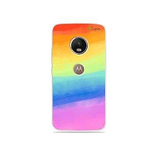 Capinha para Moto G5 Plus - Rainbow