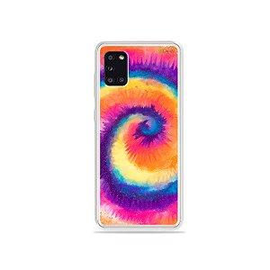 Capinha para Galaxy Note 10 Plus - Tie Dye Roxo