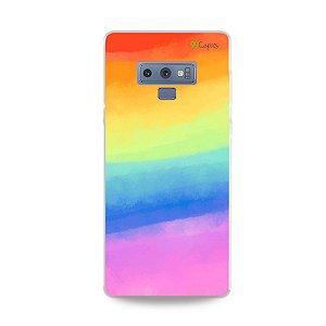 Capinha para Galaxy Note 9 - Rainbow