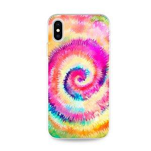 Capinha para iPhone X/XS - Tie Dye