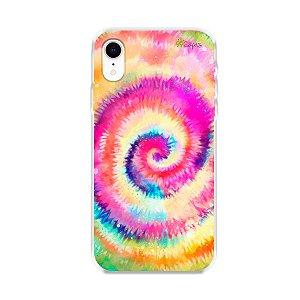 Capinha para iPhone XR - Tie Dye