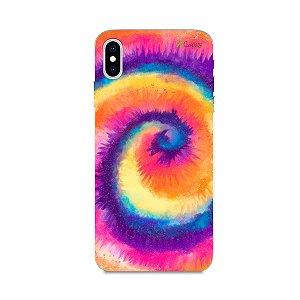Capinha para iPhone XS Max - Tie Dye Roxo