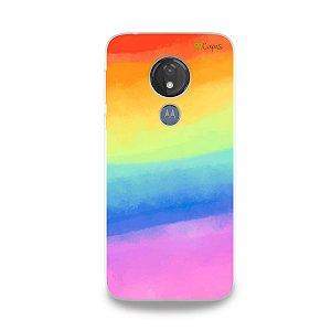 Capinha para Moto G7 Power - Rainbow