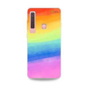 Capinha para Galaxy A9 2018 - Rainbow