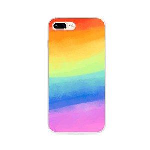 Capinha para iPhone 7 Plus - Rainbow