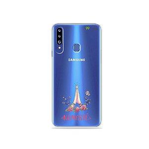 Capinha (transparente) para Galaxy A20s - Namastê