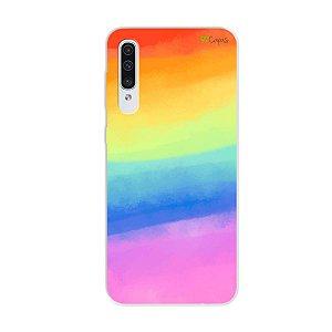 Capinha para Galaxy A50s - Rainbow