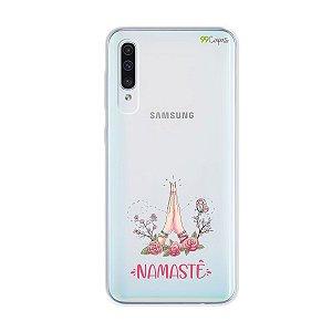 Capinha (transparente) para Galaxy A50s - Namastê