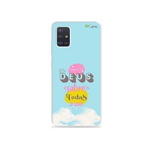 Capinha para Galaxy A51 - Amar a Deus