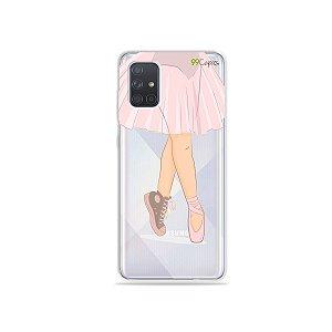 Capinha (transparente) para Galaxy A71 - Ballet