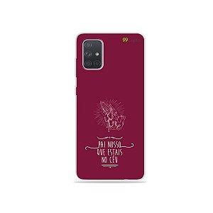 Capinha para Galaxy A71 - Pai Nosso
