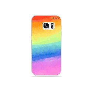 Capinha para Galaxy S7 - Rainbow