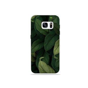 Capinha para Galaxy S7 - Folhas