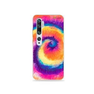 Capinha para Xiaomi Mi Note 10 - Tie Dye Roxo
