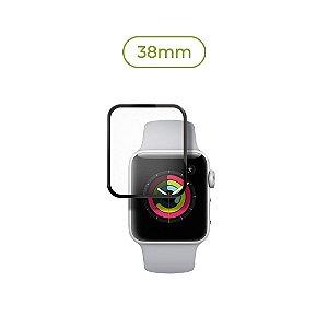 Película de Nanogel (borda preta) para Apple Watch - 38mm