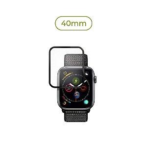 Película de Nanogel (borda preta) para Apple Watch - 40mm