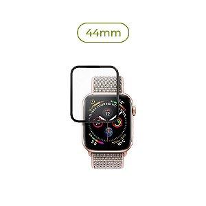 Película de Nanogel (borda preta) para Apple Watch - 44mm