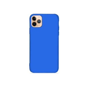 Silicone Case Azul Bic para iPhone 11Pro (acompanha Pop Socket) - 99Capas