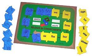 Braille - labirinto passo a passo -EVA -60 peças -Embalagem com zíper