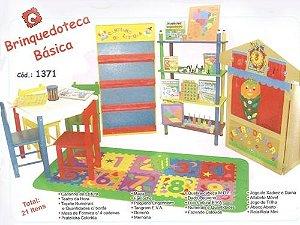 Brinquedoteca básica - 21 itens - Caixas de papelão