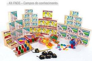 Kit FNDE - Campos do conhecimento -Itens 26 a 35-Caixa papelão