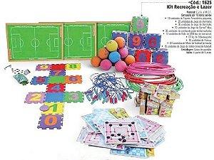 Kit recreação e lazer - 10 jogos - Caixas de papelão