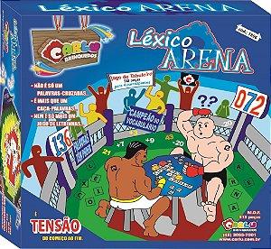 Léxico arena - MDF - 513 peças - Cx papel