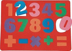 Numeros - conhecendo os numerais - EVA - Embalagem plástica