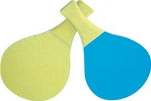 Raquetes tênis de mesa - MDF - 1 par - Embalagem plástica