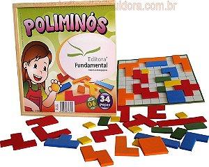 Brincando c/ os Numeros - 114 peças em madeira