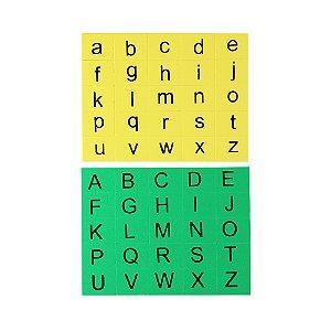 Alfabeto silabico EVA - 400 pecas - Emb. plastica