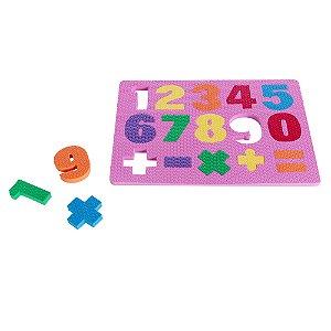 Numeros - conhecendo os numerais - EVA - Emb. plast.