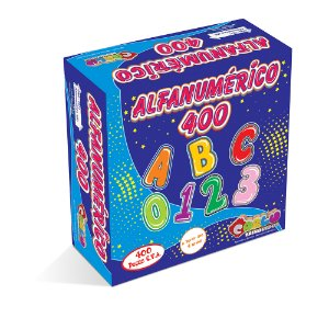 Alfanumerico EVA 400 pc - Cx papel