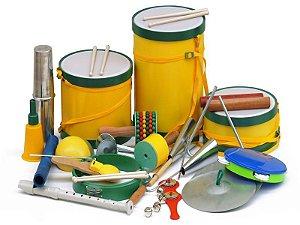 Bandinha Rítmica Infantil com 20 Instrumentos Musicais