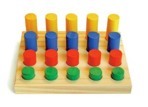 Brinquedo Educativo Jogo De Pinos - JOTTPLAY