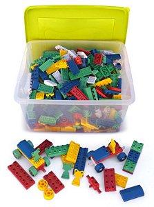 Caixa Organizadora Criativa Com 800 Peças Tipo Lego