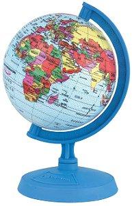 Globo Mapa Mundi Mini Baby 10 Cm