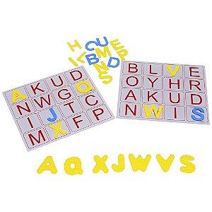 Alfabeto Bingo De Letras Em Eva 196 Peças