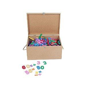 Brinquedo Educativo Maleta Com 1.000 Numeros Em E.V.A  - CARLU