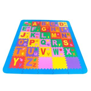 Tapete Educativo Infantil Super Tapete Educativo Infantil Do Alfabeto Com Bordas - CARLU