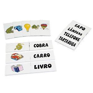 Cartas para ditado em EVA com 40 pecas - Emb. plast.