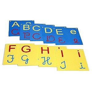 Varal De Letras/Alfabeto 4 Em 1 Em Eva Com 26 Peças