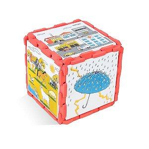 Brinquedo Educativo Musicalização Dado De Sons Em E.V.A  - CARLU