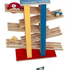 Brinquedo Educativo Multirace Em Mdf 9 Peças - CARLU